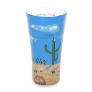 Other - Cactus Shot Glass 2 Oz Hand Painted